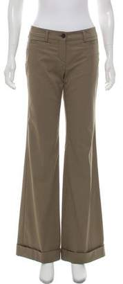 Rene Lezard Mid-Rise Wide-Leg Pants w/ Tags