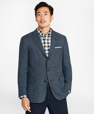 Brooks Brothers Regent Fit Three-Button Tic Sport Coat
