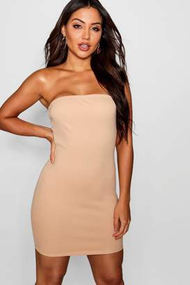 boohoo Bandeau Mini Dress