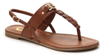 G by GUESS Dalee Flat Sandal $49 thestylecure.com
