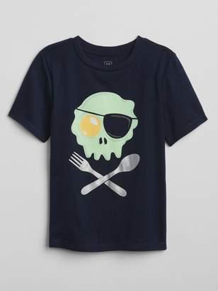Gap Egg Skull Graphic T-Shirt