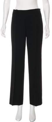Armani Exchange Mid-Rise Wide-Leg Pants