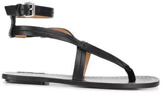 Isabel Marant flat strappy sandals