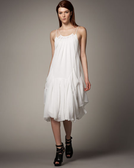Theyskens' Theory Long Camisole Dress