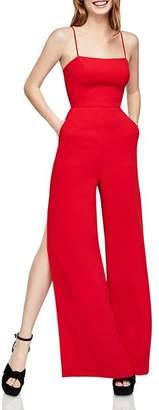 BCBGeneration Side-Slit Wide-Leg Jumpsuit