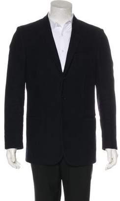 Helmut Lang Vintage Three-Button Felted Blazer
