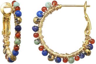 Michal Golan Jewelry Harvest Moon Mini Hoop Earrings