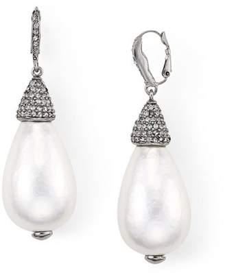 Oscar de la Renta Cultured Pearl Drop Earrings