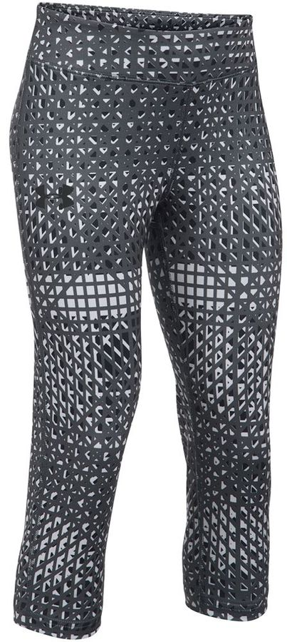 Girls 7-16 Under Armour HeatGear Printed Capri Leggings