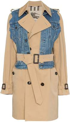 Tiger In The Rain Layered Cotton Trench Coat