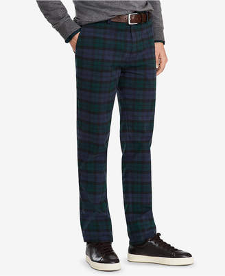 Mens Tartan Trousers Red Shopstyle