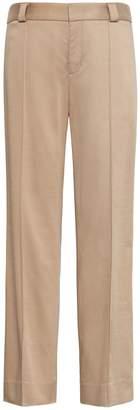 Banana Republic Logan Trouser-Fit Cropped Sateen Pant