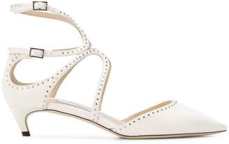 Jimmy Choo Lancer flat criss cross sandal