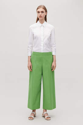 Cos CROPPED PRESSFOLD TROUSERS