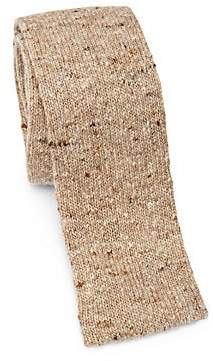 Brunello Cucinelli Men's Wool& Cashmere Knit Tie