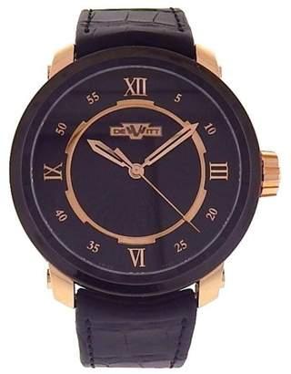 Dewitt Twenty-8-Eight T8.AU.011 Black PVD and 18k Rose Gold Automatic 43mm Mens Watch
