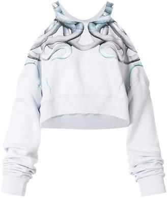 Marcelo Burlon County of Milan Snakes crewneck sweatshirt