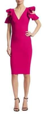 Chiara Boni Beaufort Cold-Shoulder Dress