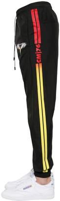 Marcelo Burlon County of Milan Barcode Wings Light Nylon Track Pants