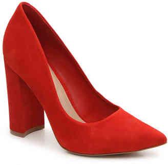 Women's Mirucia Pump -Red Suede $99.95 thestylecure.com