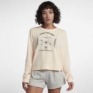 Hurley Sun Crew Waffle Womens Long-Sleeve T-Shirt