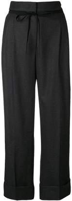 Giorgio Armani high waisted tailored trousers