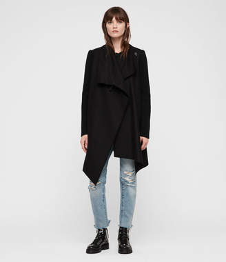 AllSaints Monument Rib Coat