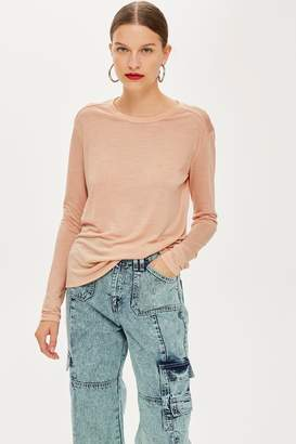 Topshop 'Long Sleeve T-Shirt by Boutique