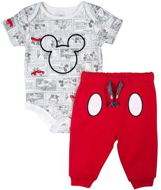 Disney Kid's Mickey Pant/Creeper Set