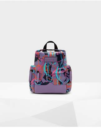 Hunter Disney Print Mini Backpack - Rubberized Leather