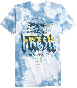 American Rag Men's Rocker Tie-Dyed Graphic T-Shirt, Created for Macy's
