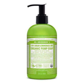Dr. Bronner's Dr. Bronner 4-in-1 Sugar Lemongrass Lime Organic Pump Soap