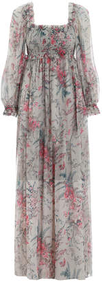Zimmermann Bayou Shirred Long Dress