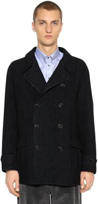 Giorgio Armani Double Breasted Wool Coat