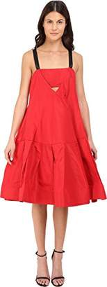 Vera Wang Women's Dress w/Cami Neckline & Voluminous Skirt 2