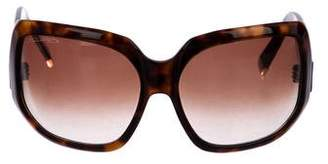 DSQUARED2 Tortoiseshell Oversize Sunglasses