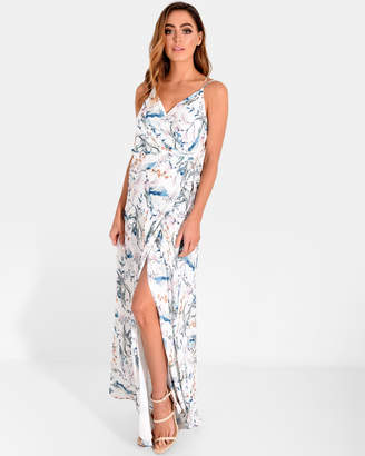 Forcast Emerson Crossover Maxi Dress