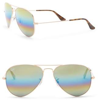 Ray-Ban Icon 62mm Aviator Sunglasses
