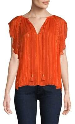 Ramy Brook Franky Ruffle Blouse