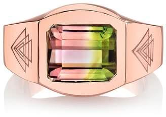 ARK Fine Jewelry Bi-Color Tourmaline Creation Ring - Rose Gold