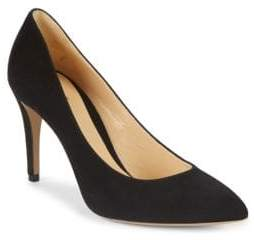 Armani Collezioni Suede Point-Toe Pumps