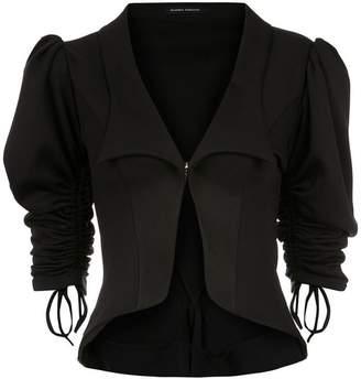 Gloria Coelho billowing sleeved blazer