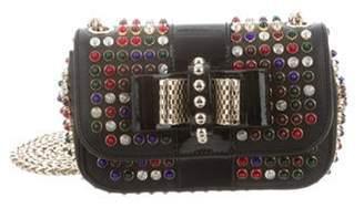 Christian Louboutin Spiked Mini Sweet Charity Bag Black Spiked Mini Sweet Charity Bag
