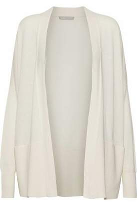 Vince Ribbed Silk And Cashmere-Blend Cardigan