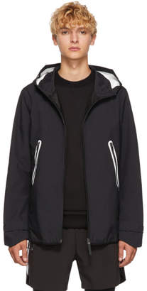 BLACKBARRETT by NEIL BARRETT Black Heat Seal Zip Jacket