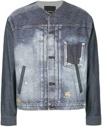 08sircus distressed denim jacket
