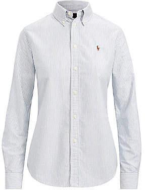 Polo Ralph Lauren Women's Custom Fit Striped Shirt