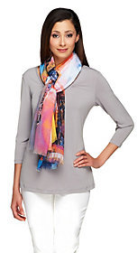 Collection XIIX As Is Collection 18 Eiffel Tower Digitially Printed Scarf $7 thestylecure.com