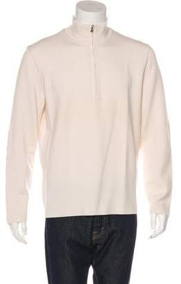 Prada Sport Mock Neck Wool Sweater
