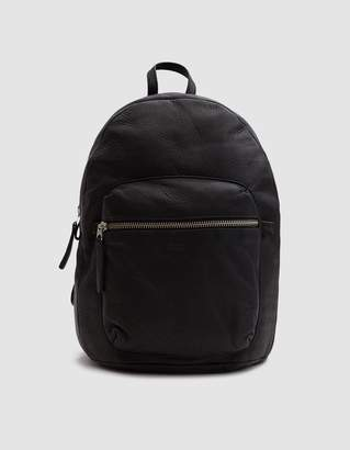 Baggu Leather Backpack in Black